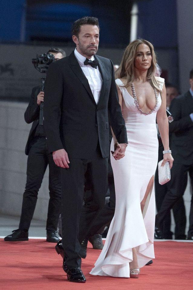 Jennifer Lopez et Ben Affleck à la Mostra de Venise