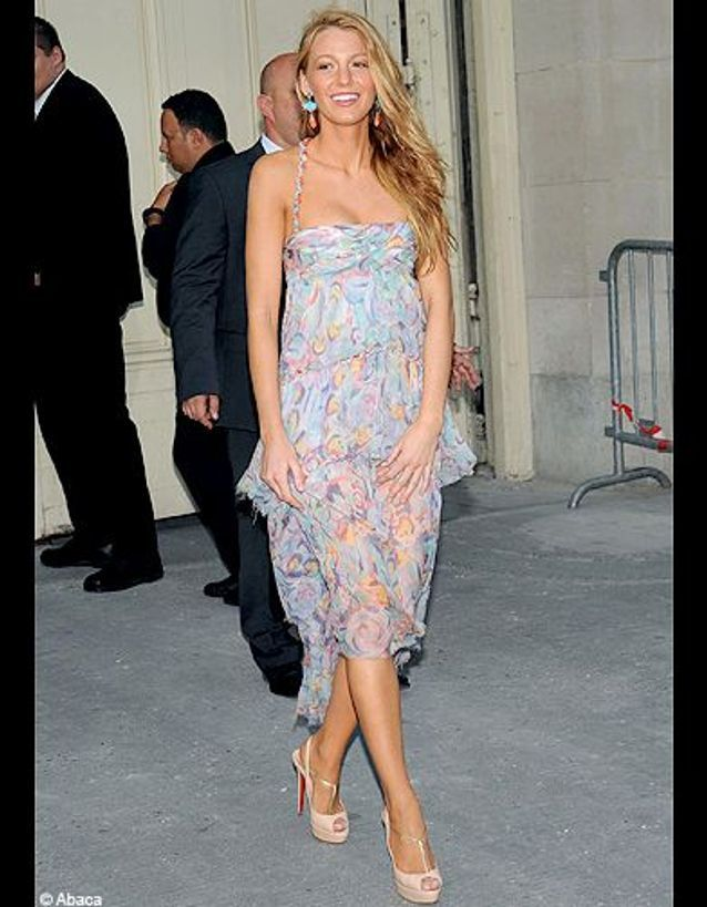 People diaporama defiles haute couture paris blake lively Chanel