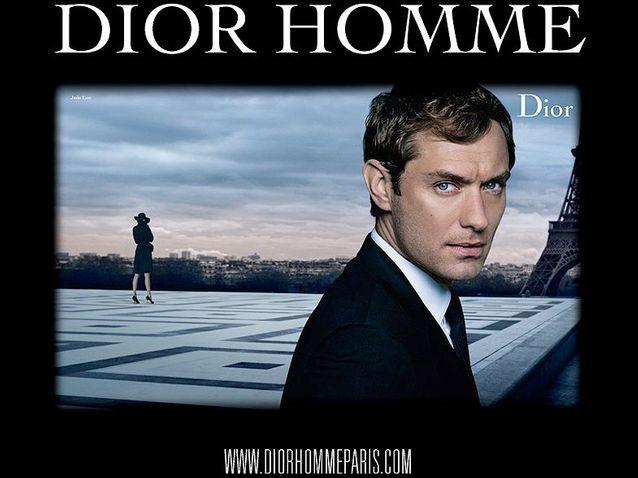 L'affiche de la campagne Dior Homme