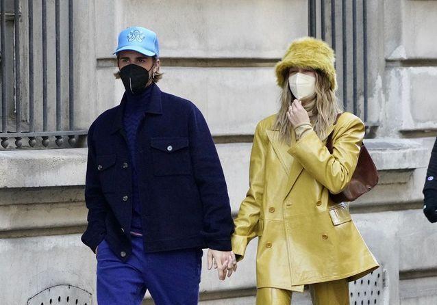 Justin Bieber et Hailey Baldwin, duo complice à Paris