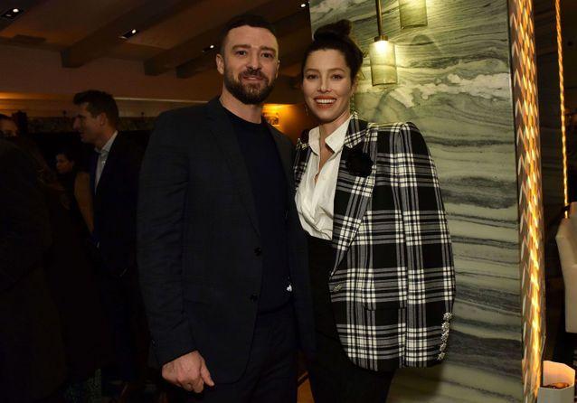Justin Timberlake et Jessica Biel complices pour la première de « The Sinner »