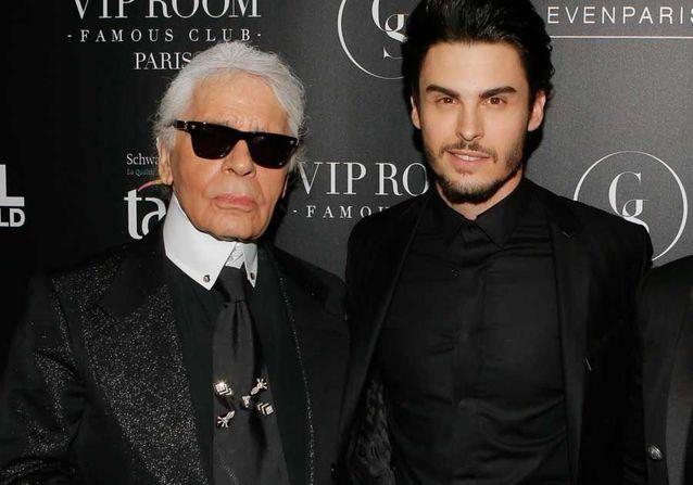 Karl Lagerfeld - Baptiste Giabiconi pleure la disparition de son «père» : «Je lui dois tout»