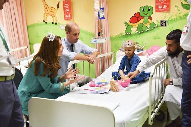 Quatrième jour au Pakistan pour Kate Middleton et le prince William