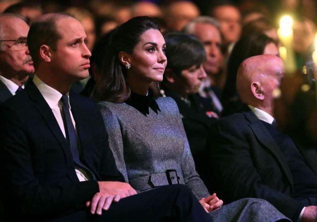 Kate Middleton au bord des larmes pour rendre hommage aux victimes de l'Holocauste