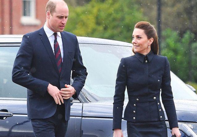 Kate Middleton : chic pour affronter la pluie en famille