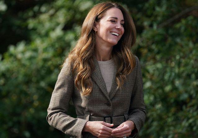 Kate Middleton en sortie sportive avec les cadets de la Royal Air Force