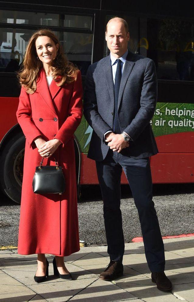Nouvelle apparition de Kate Middleton et William