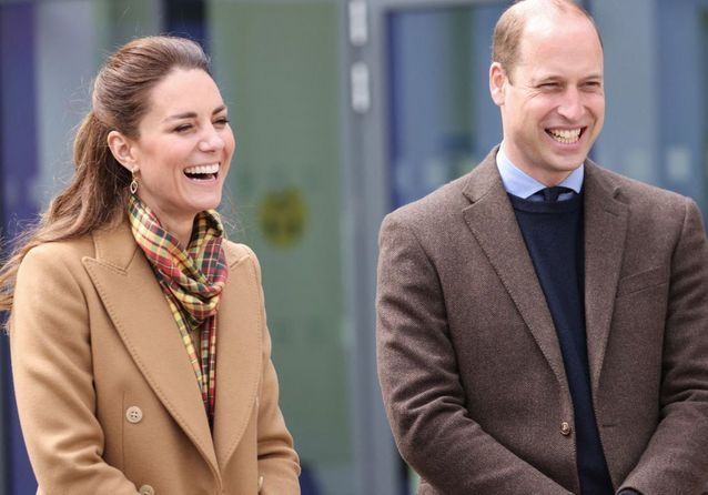 Kate Middleton et le prince William, duo radieux en Écosse