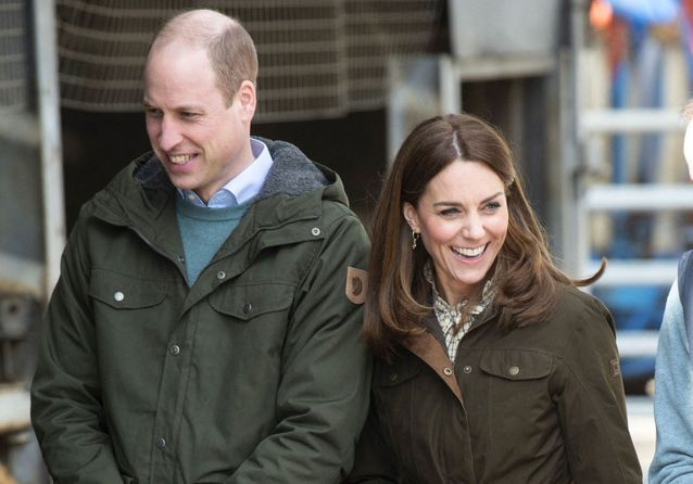 Kate Middleton et le prince William font sensation dans la campagne irlandaise
