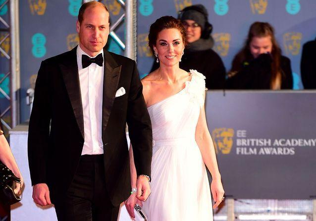 Kate Middleton et le prince William : une apparition remarquée aux côtés des plus grands noms du cinéma