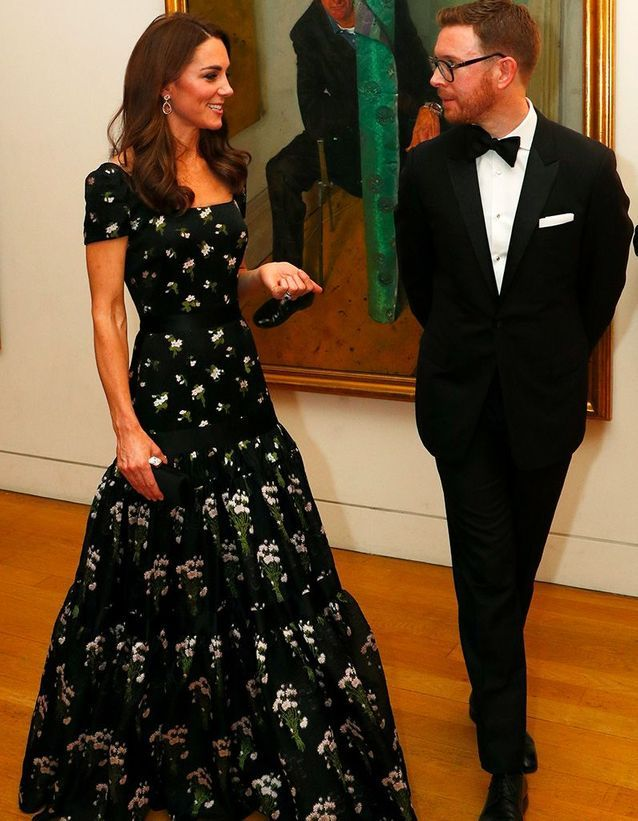Kate Middleton à la National Portrait Gallery