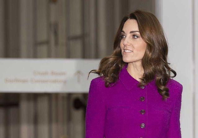 Kate Middleton : la signification cachée derrière ce look violet