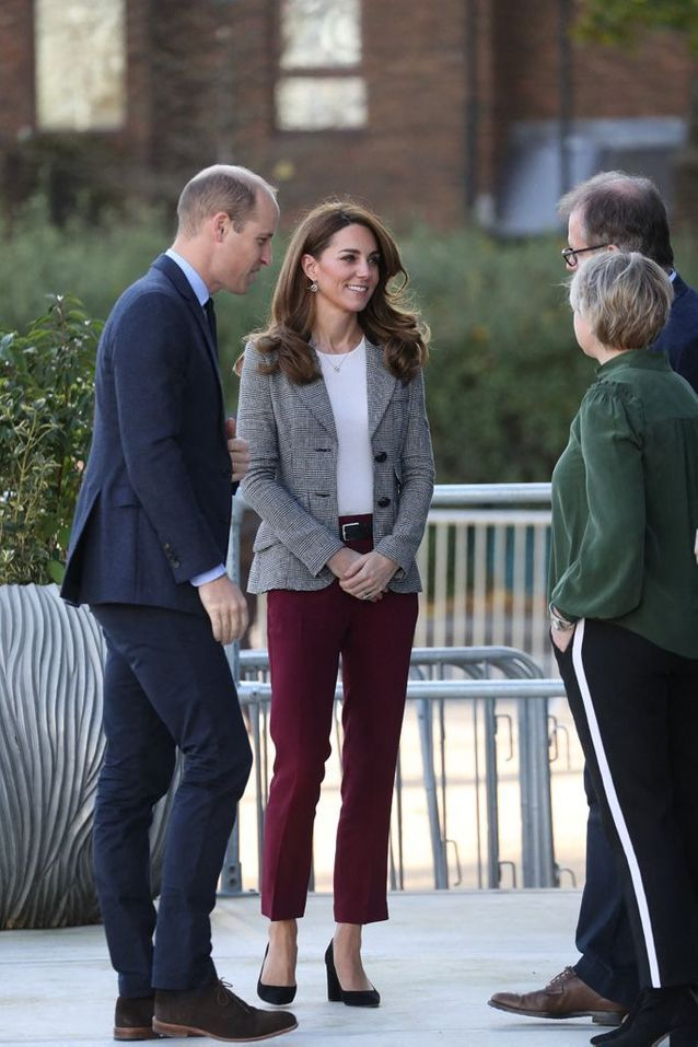 Kate Middleton et William assistent à un évènement caritatif à Londres