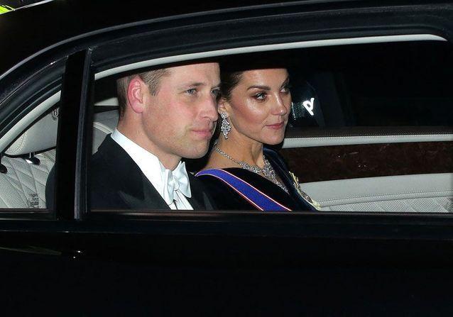 Arrivée de Will et Kate