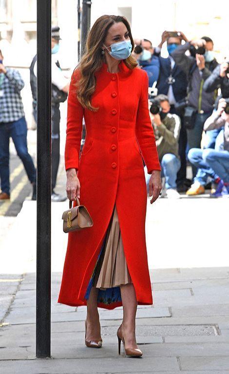 Kate Middleton en visite à Londres