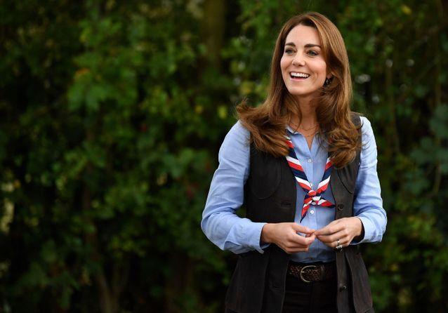 Kate Middleton, tenue décontractée et foulard : scout toujours !