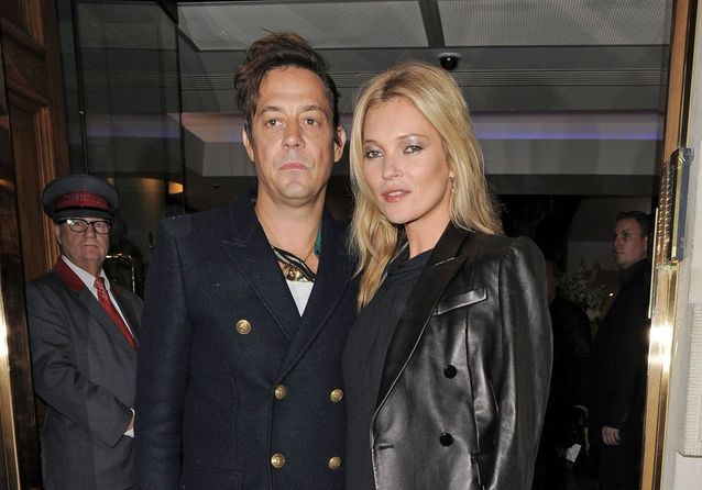Kate Moss et Jamie Hince: rock and love!