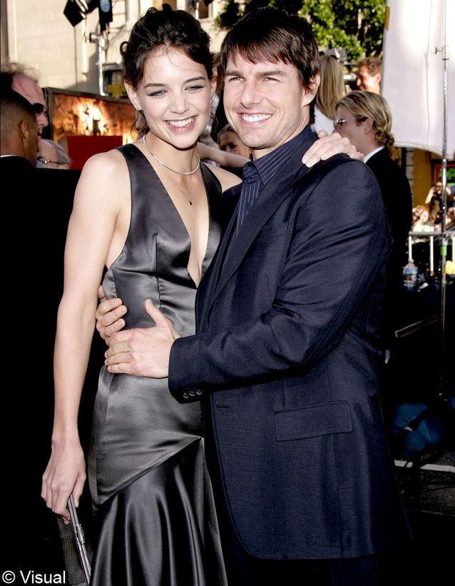 Quand elle rencontre Tom Cruise, en 2005