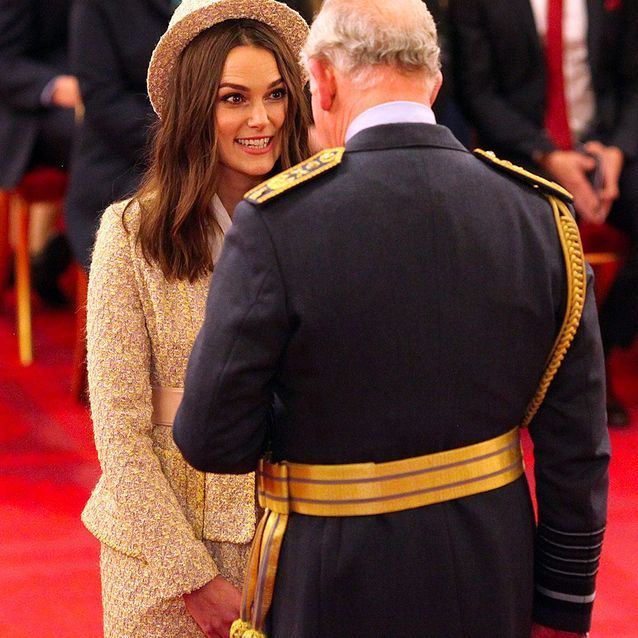Keira Knightley et le prince Charles