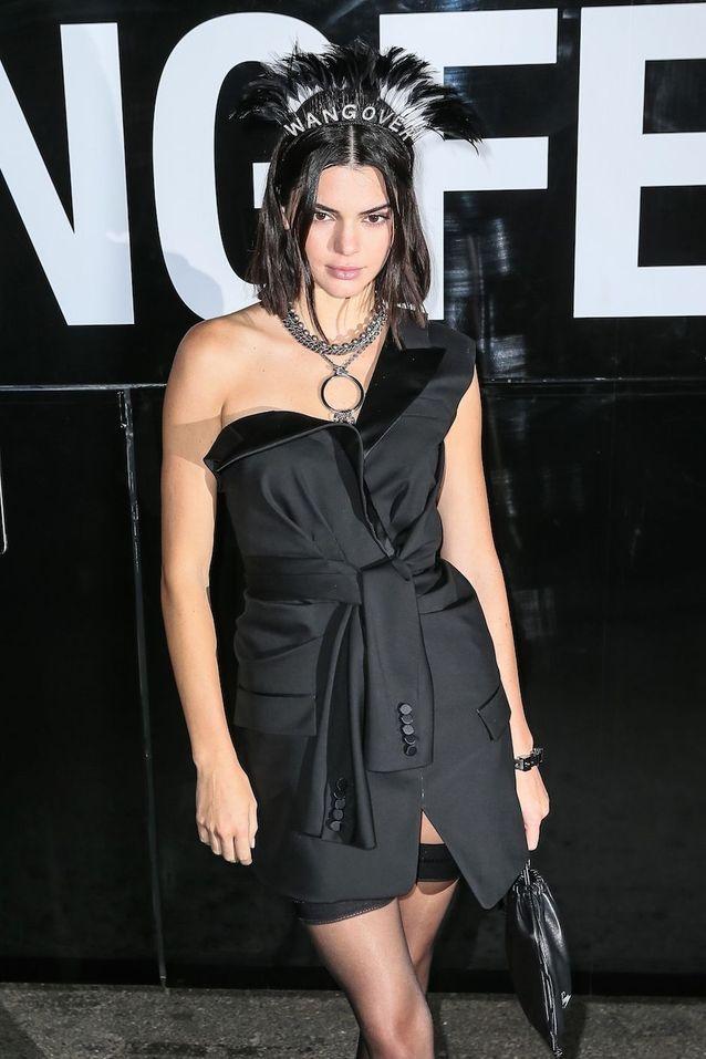 Kendall Jenner à la New York Fashion Week