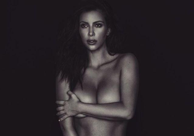 Kim Kardashian nue : quand la star s'expose dans le plus simple appareil