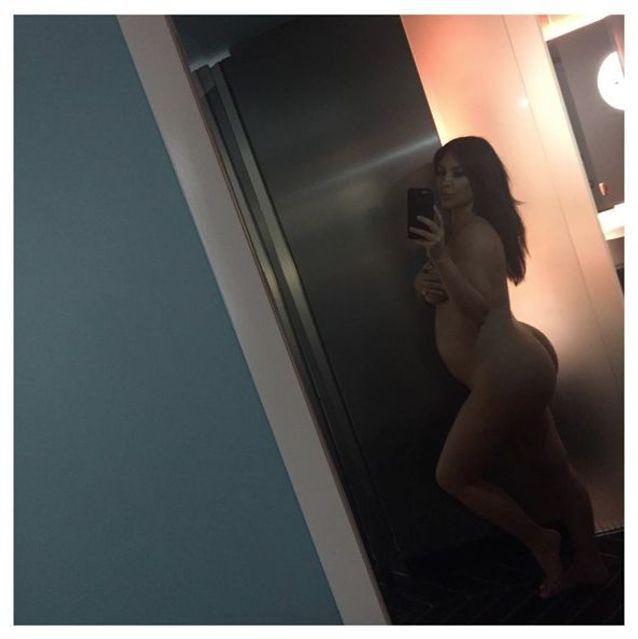 Nue enceinte