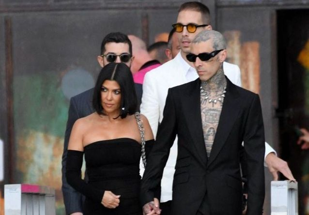 Kourtney Kardashian et Travis Barker : leur virée romantique en Italie