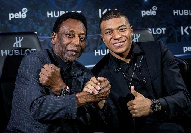 Kylian Mbappé et Pelé : rencontre cinq étoiles !