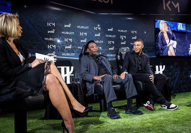 La rencontre entre Kylian Mbappé et Pelé