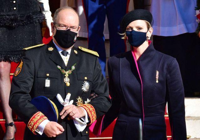 La famille monégasque célèbre la fête nationale du Rocher