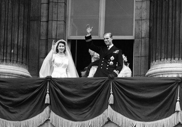 La reine d'Angleterre et le prince Philip : les images d'un mariage royal