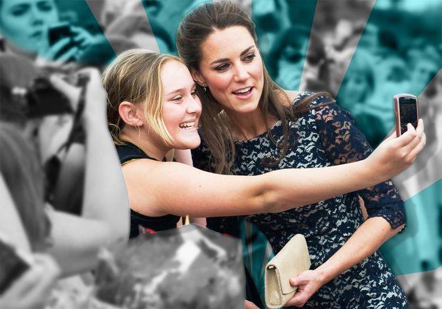 La reine, Kate, William… Les meilleurs selfies de la famille royale!