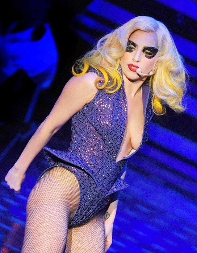 Le piercing de Lady Gaga