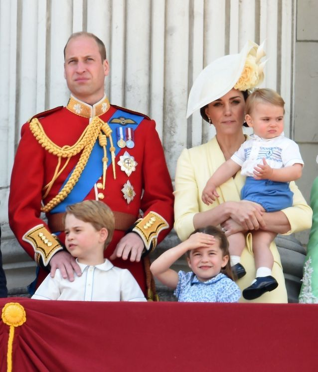 Kate, William, George, Charlotte et Louis