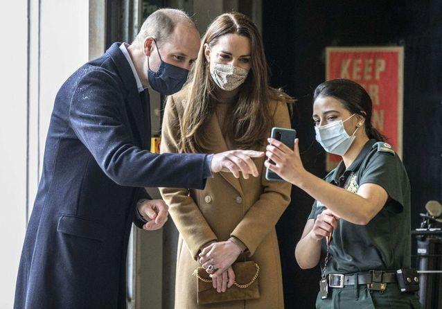 Le prince William poursuit ses engagements avec Kate après l'interview controversée de Meghan et Harry