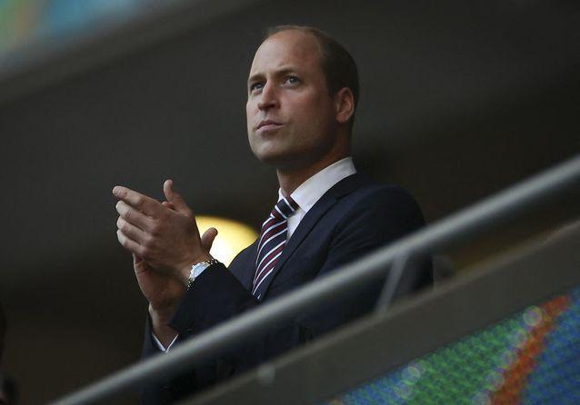 Le prince William, supporter de choc de l'équipe anglaise pour l'Euro 2021