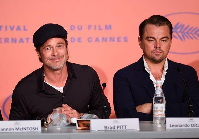 Brad et Leon à la conférence de presse du film à Cannes