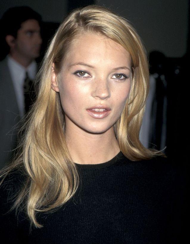 A la boutique Calvin Klein de Beverly Hills, en septembre 1995.