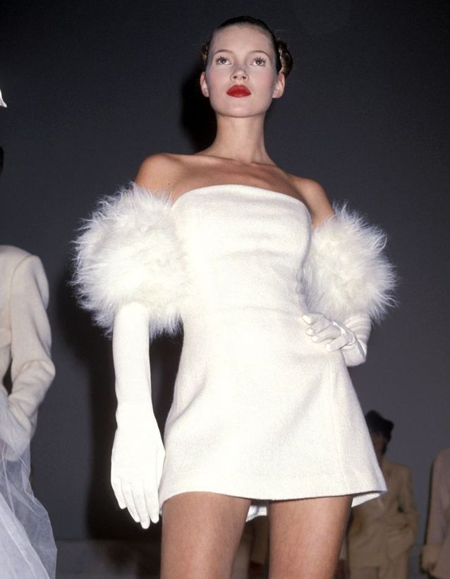 Au APLA Fashion Show, à Los Angeles, en mai 1994.