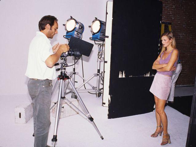 Sous l'objectif de Kim Knott, à New York, en 1995.