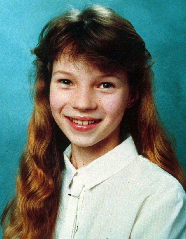 Une photo de Kate à l'école, à la fin des années 70.