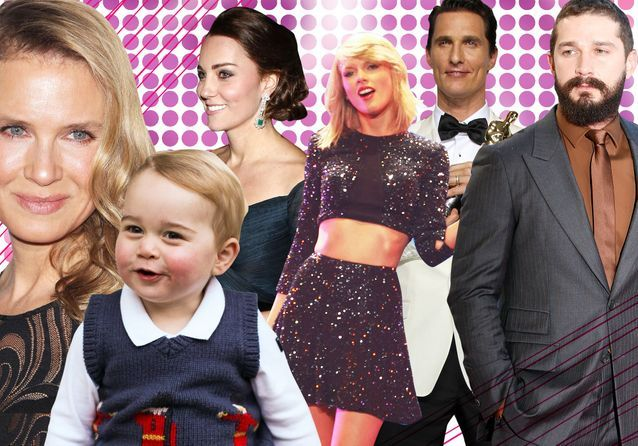 Les 30 stars qui ont marqué 2014