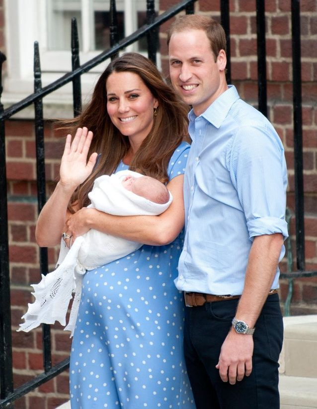 La première sortie du royal baby