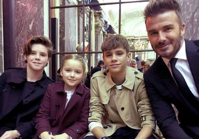 Les Beckham, la famille la plus stylée de la Fashion Week de New York