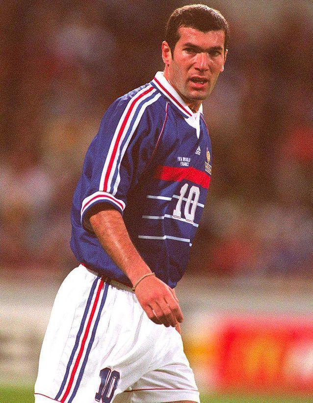Zidane en 1998