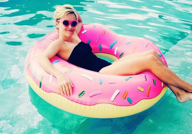 Les Instagram de la semaine: à l'eau avec Reese Witherspoon!