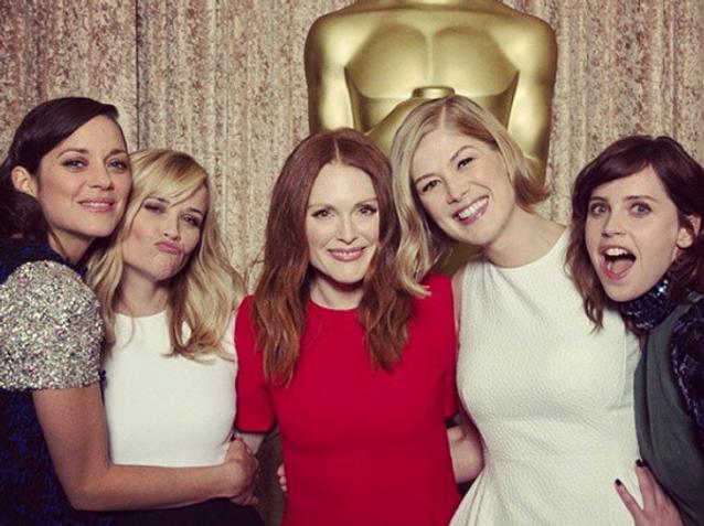 Les Instagram de la semaine: dans les coulisses des Oscars !