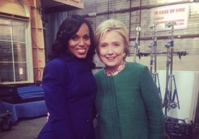 Les Instagram de la semaine: Hillary Clinton, bientôt dans «Scandal»?
