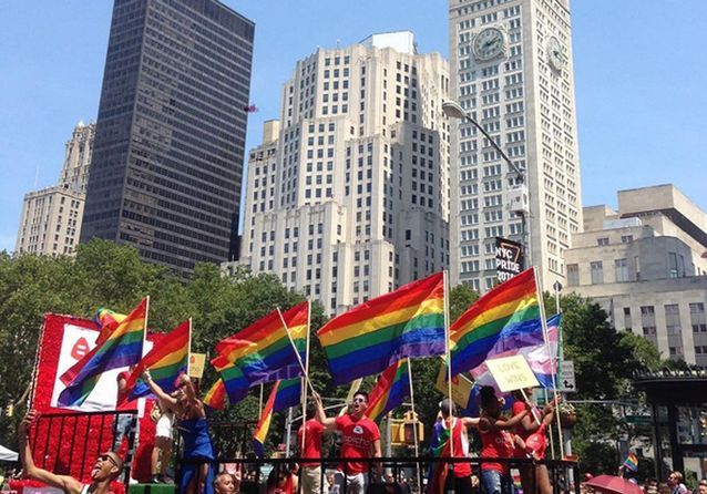 Les Instagram de la semaine: les stars à la gay pride de New York