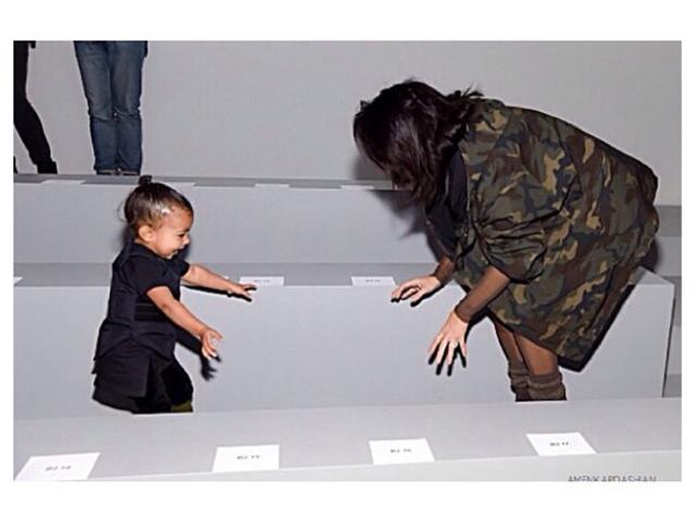 Les Instagram de la semaine: North West à la Fashion Week!
